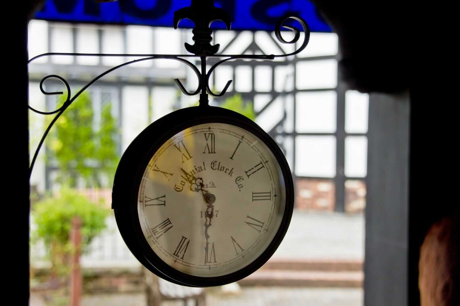 潜在意識、阿頼耶識の時計は、願望が達成される未来の時間を記憶しています。
