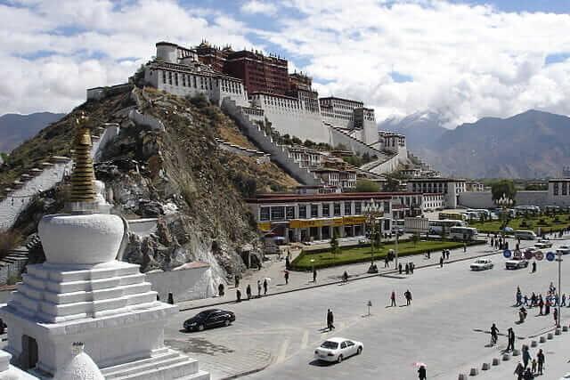 チベット仏教、潜在意識、阿頼耶識の聖地、ポタラ宮殿