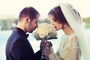 結婚式の記憶が潜在意識から湧いてきます。